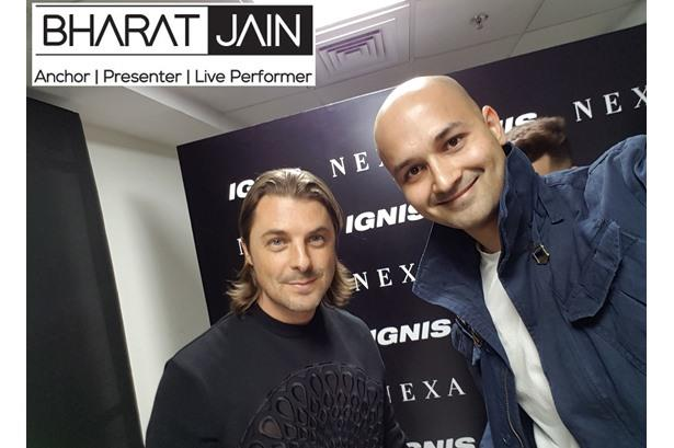 AXWELL - World EDM Sensation & Giant and Anchor Bharat Jain freeze a moment at IGNIS ELECTRONATION
