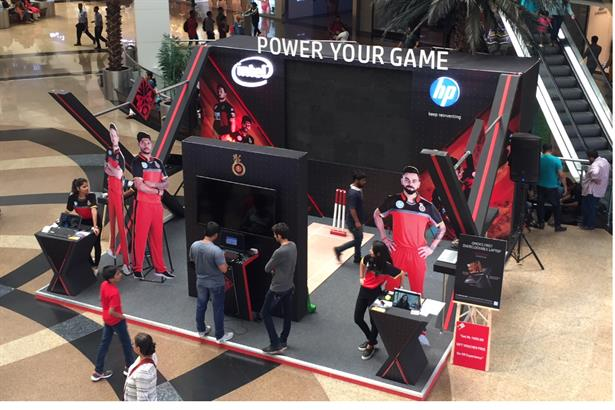 #hp #intel #mall #activation #universal #india #events