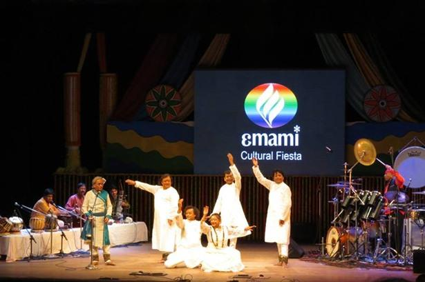 Q lighting for Emami Cultural Fiesta with Pt Birju Maharaj & Shiva Mani