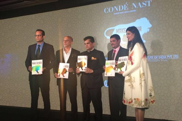 Launch of Make In India Magazine