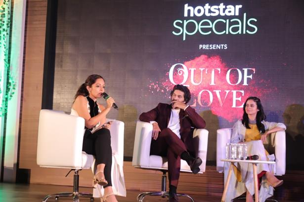 Presented the Hotstar specials New Show with the head of Hotstar , BBCIndia Studios , Purab Kohli and Rasika Duggal!
