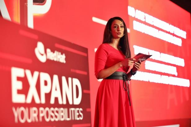 Zinia Fernandes Chosen to present the Red Hat Forum 2019 in Mumbai for the third consecutive year.