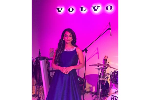 Zinia Fernandes Hosts an evening for Volvo Car India in Ahmedabad .