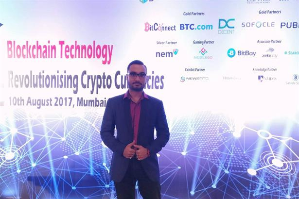 Raja Mukherjee Hosted the most talked about Bitcoin / Crypto currency conference that emphasized on Blockchain technology at Courtyard Marriott. Mumbai among international guests and expert speakers