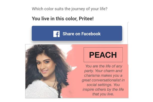 Facebook describes Pritee Kathpal as The life of any party