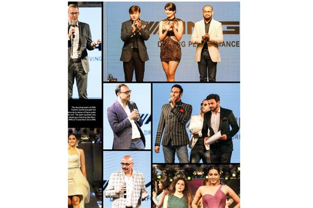 Nitish Kamdar featured in Urbane Magazine while hosting the Mercedes AMG Fashion Soiree Night.