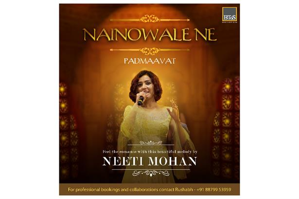 Feel the romance with this beautiful melody by Neeti Mohan from the movie Padmaavat.