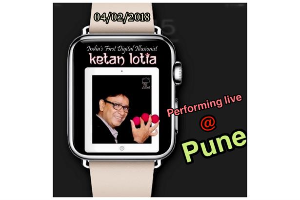 Ketan Lotia will perform Digital Magic For Sangeet on 4th February @ Pune