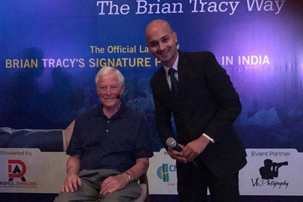 Hosted the official launch of 'Brian Tracy Signature Programmes' in India in New Delhi