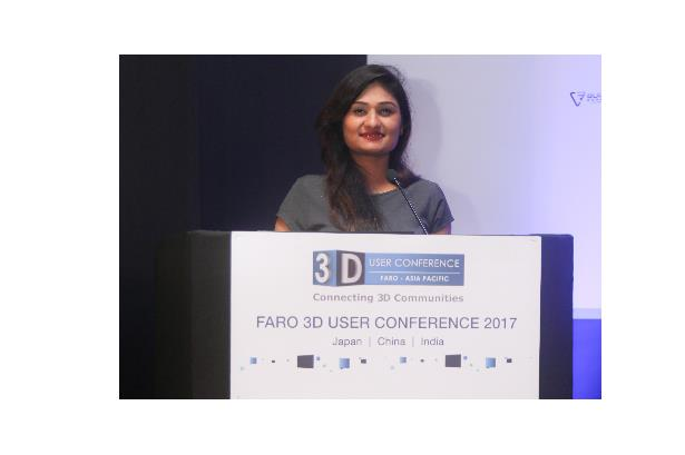 Anchored 'Faro 3D User Conference Asia Pacific 2017' at Novotel Juhu, Mumbai.