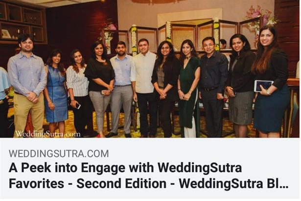 Bhavana Bhatia (#BBLIVE) hosted the Wedding Sutra Favourites at Four Seasons in Mumbai. Bhavana is the only female emcee as Wedding Sutra Favorite.