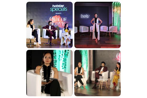 Presented the Launch of Hotstar specials New show- Out of Love!