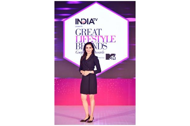 Ritika Jhanji hosts the smashing maiden edition of Great Lifestyle Brands Conference & Awards