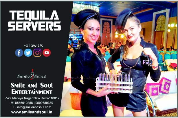 Tequila Servers by Smile and Soul Entertainment