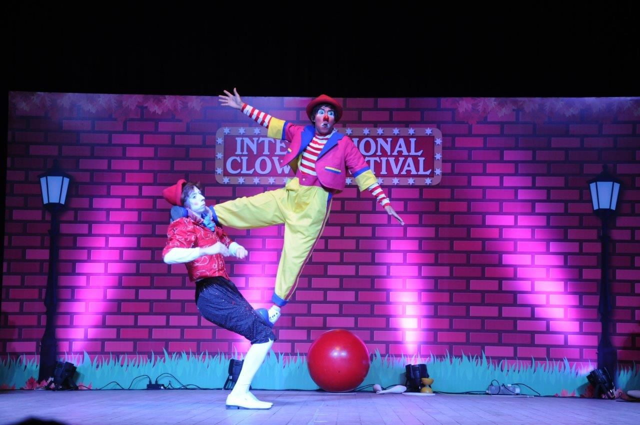 the international clown festival presents 5th edition across 3