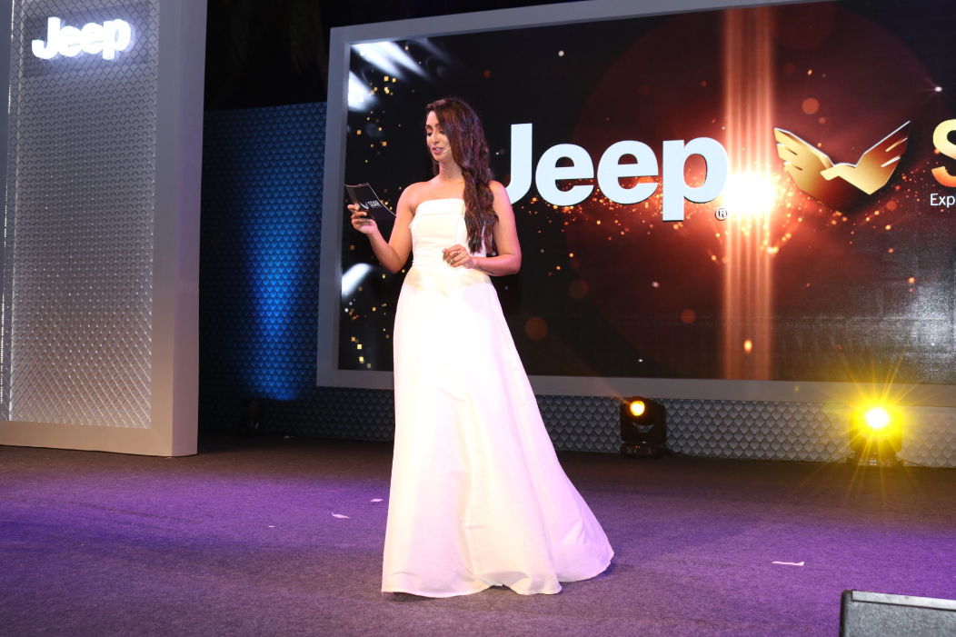 Zinia Fernandes Hosts An Awards evening for JEEP India recently in Goa. The event was managed by Fountainheaf MKTG.