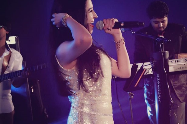 Sangeetha Rajeev performed at the Eagleton Golf Resort, Bangalore for the  Mobileum India event  for 500+ audience.