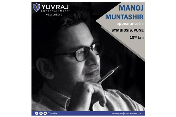 Manoj Muntashir will be judging the show in #Symbiosis, #Pune on 19th January 2017.