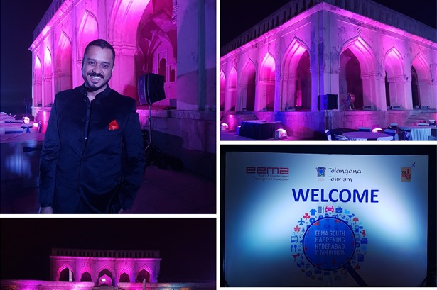 MC and Singer: EEMA's 1st ever FAM Trip in India (Hyderabad)