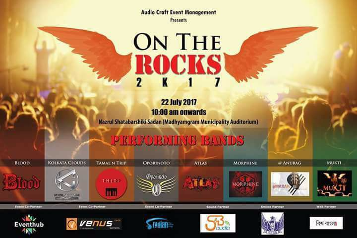 "Blood Going Live today for an Independent Rock Music Fest, ""On The Rock"""
