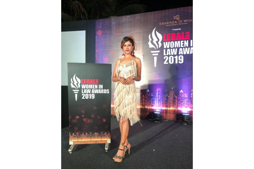Shikha hosted The Women in Law Awards for Legal Media Group at Taj Lands End, Mumbai