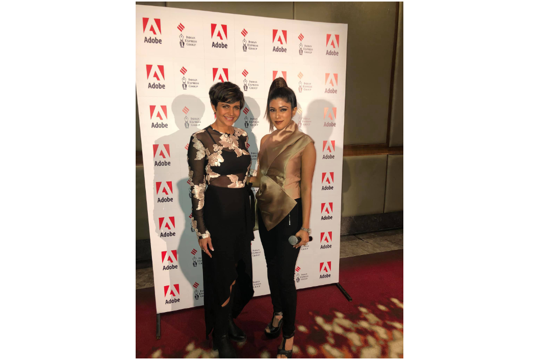 Shikha hosted Mandira Bedi last month for an exclusive Fitness Transformation Talk for Adobe & Indian Express