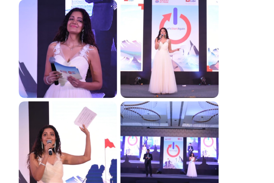 Hosted the HDFC life Annual Awards!