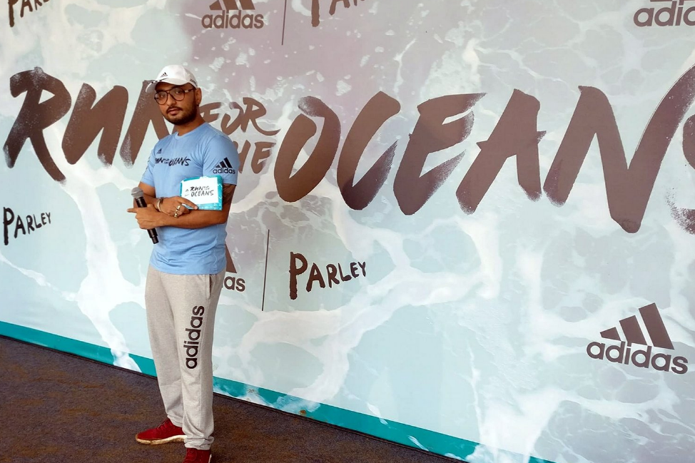 Raja Mukherjee Co-Hosts #RunForTheOceans by Adidas along side Anusha Dandekar. This 2nd edition of the newest Adidas property has become a worldwide phenomena. The run gathered 2500+ pax at 5AM