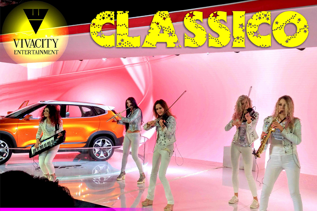 **The Zestfull Performers ..CLASSICO Girls*