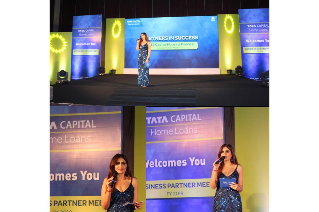Hosted the Channel Patner meet for Tata Capital-Home loans at Mumbai