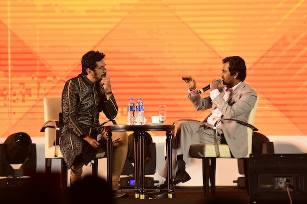 A K Rahman in conversation with Nawazuddin Siddiqui for the ABFS day.