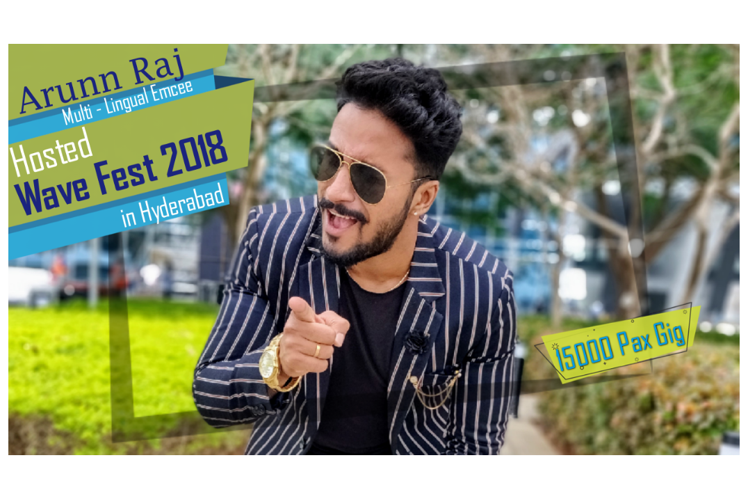 Award Winning Emcee | Entertainer Hosted the inter-corporate talent show in hyderabad