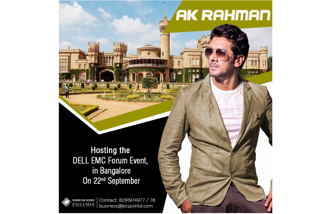 AK Rahman hosts Dell Emc Forum 2017