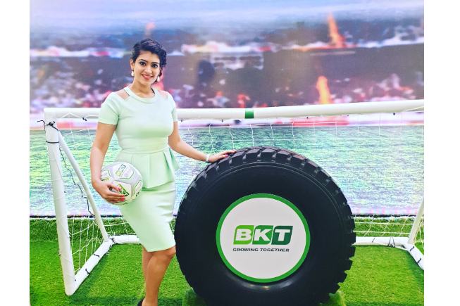 Pritee Kathpal hosted for BKT tyres
