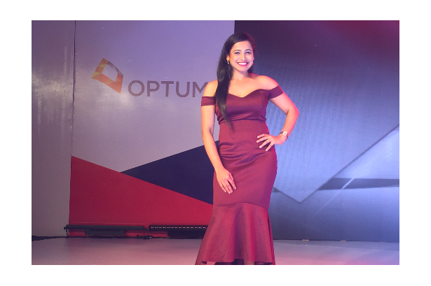 Stage show host Reena Dsouza hosts OPTUM Annual Employee Town Hall 2017 & XL Health 10 years celebration