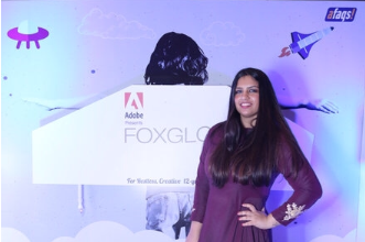 Bhavana Bhatia anchors the Foxglove Awards Night for Afaqs at Four seasons hotel in Mumbai in presence of 500 media personelle