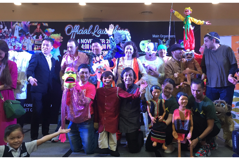 Represented INDIA at World Puppetry Carnival in Kuching, Malaysia