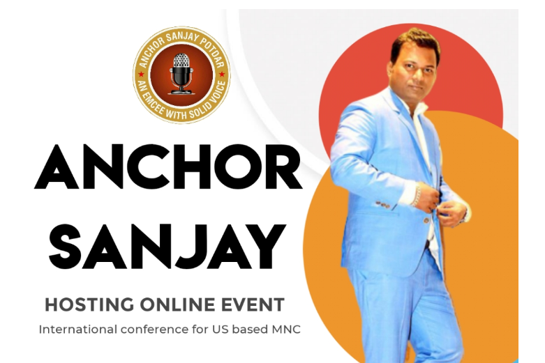 Anchor Sanjay hosting Digital Event which is International conference for US MNC !!