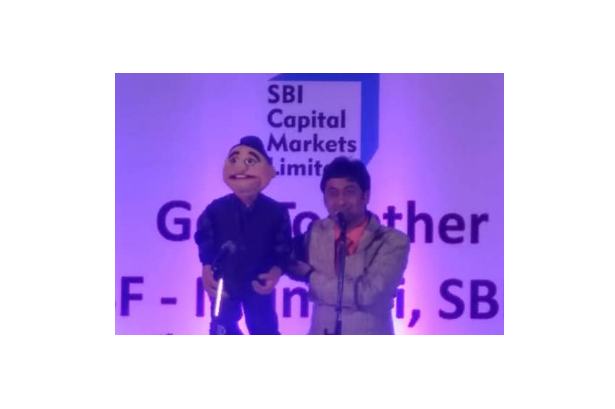 Performed for SBI Capital Markets at Radisson Blu Resort and Spa, Karjat
