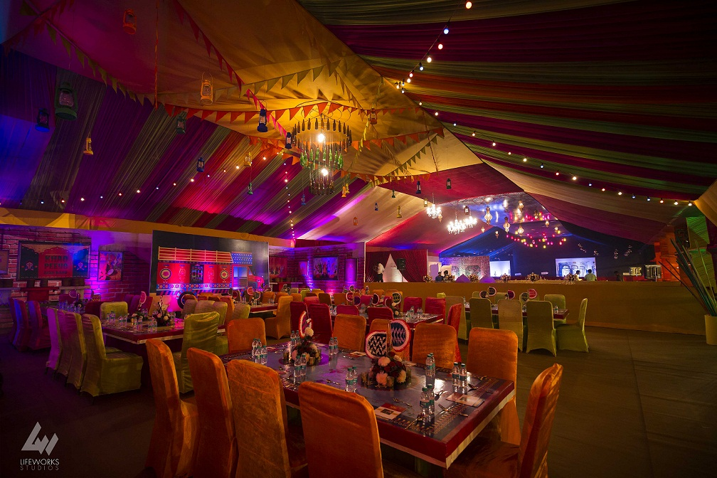 Decor delight r s events recreates the ancient city of