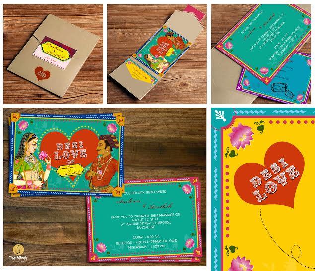 Creative Wedding Invitations Indian