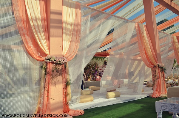 Divine Decor At Sikh Wedding By Bougainvilla Design India News