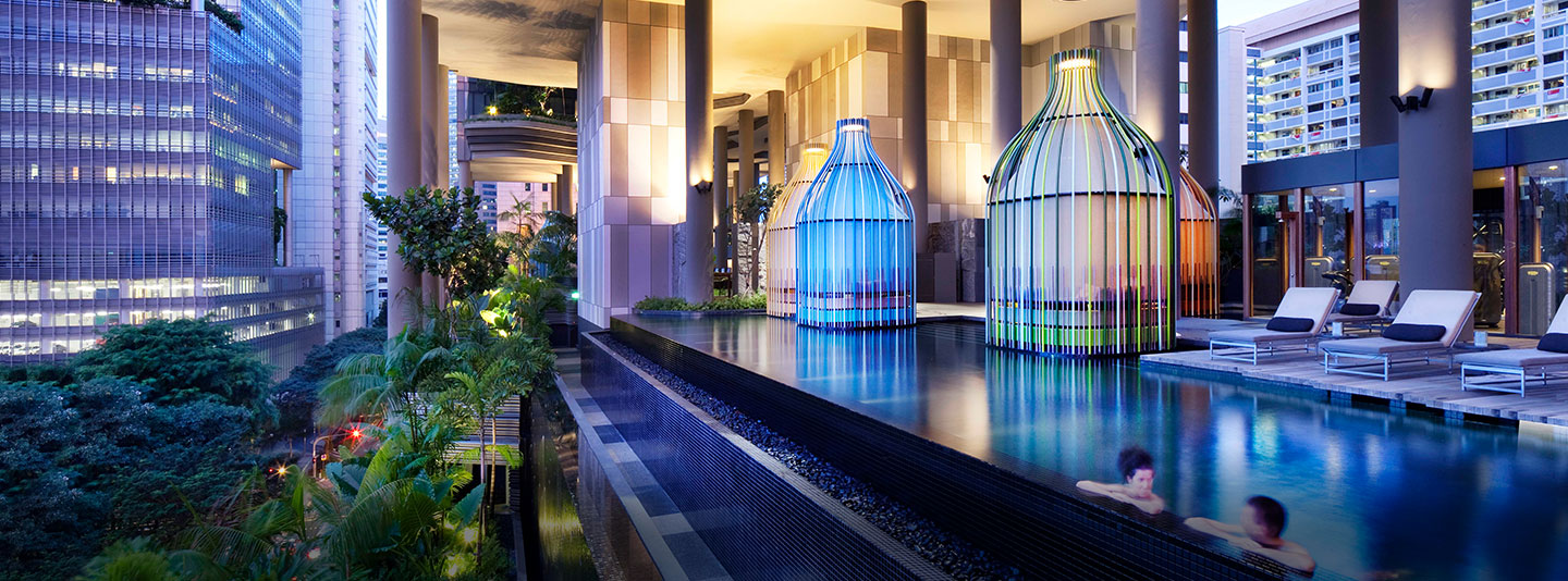 8 hotels in singapore every mice planner must know about india news updates on eventfaqs for Park royal pickering swimming pool