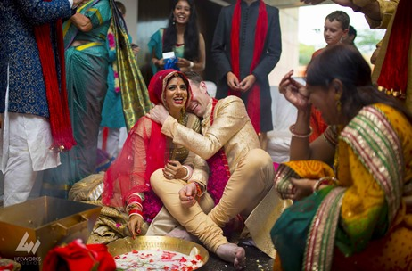A Desi-Firangi Delhi Wedding by Waamos Events; Shot Beautifully by Lifeworks Studios!