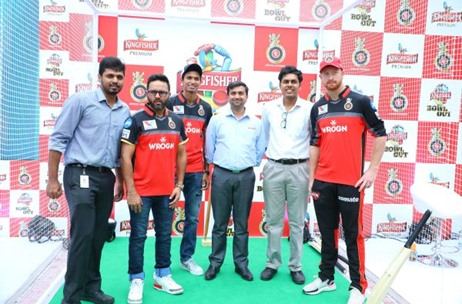 'Kingfisher Bowl Out' Gives Royal Challengers Bangalore Fans a Chance to Bowl Out Cricketers