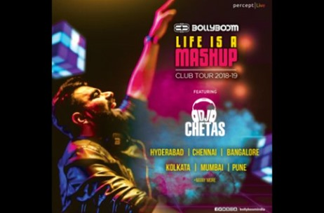 Percept Launches the 'Bollyboom Life is a Mashup Club Tour' with DJ Chetas Across India