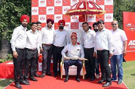 "Pinkstar Events Executes ""Sheran-Da-Maan"" Themed Annual Dealers Conference for ACC Cement"