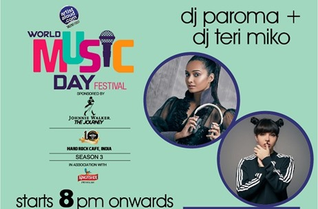 Artist Aloud Celebrates World Music Day with 7 Gigs Across 6 Cities