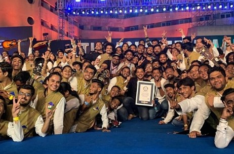 EB21 Executes Live1000 Event for Amazon Prime's The Forgotten Army, Creates a Guinness World Record!