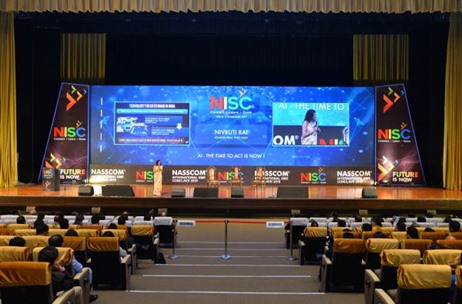 'NASSCOM International SME Conclave 2019' Managed and Executed by Millennium Event